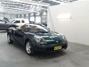 2001 Toyota Mr2 ZZW30R Spyder Green 5 Speed Sequential Manual Convertible Beresfield Newcastle Area Preview