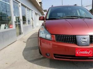 2004 Nissan Quest S Accident Free Certified DVD.