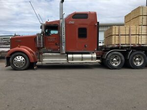 2012 Kenworth W900L 72 AERODYNE VIT heavy duty  full lock