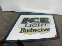 Bud Ice Draft Beer Advertising Mirror