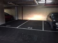 PARKING SPACE AVAILABLE IMMEDIATELY
