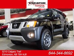 2015 Nissan Xterra PRO-4X, LEATHER, HEATED SEATS, TOUCH SCREEN,