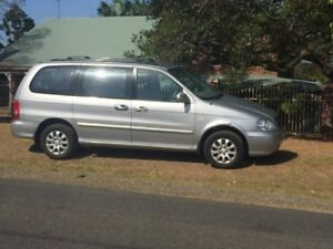 2004 Kia Grand Carnival VQ EX Wagon 8st 5dr Spts Auto 5sp 3.8i Sports Automatic Wagon