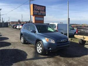 2007 Toyota RAV4 Limited***4WD**4 CYLINDER**LEATHER**ONLY 150 KM