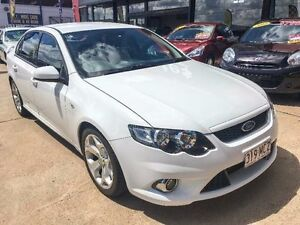 2011 Ford Falcon FG XR6 Winter White Sports Automatic Sedan Fyshwick South Canberra Preview