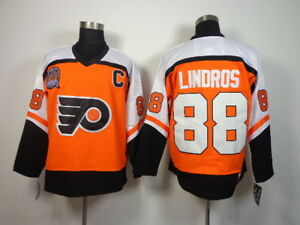 New Eric Lindros Philadelphia Flyers Jersey Large L New CCM