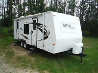2012 Rockwood Mini Lite 2502S Travel Trailer with Slideout