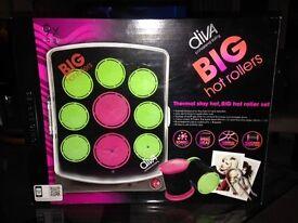 DIVA BIG Hot Rollers