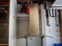 Baumatic 90cm Island Chimney Hood in Stainless Steel