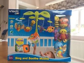 Vtech Baby - Sing & Soothe Musical Cot Mobile with timer BNIB