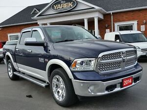 2014 Ram 1500 Laramie 4x4, NAV, Heated/Vented Seats, Back Up Cam