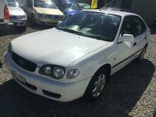 2000 Toyota Corolla AE112R Ascent White 5 Speed Manual Sedan Jewells Lake Macquarie Area Preview