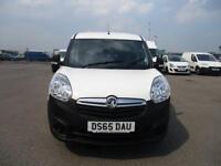 Vauxhall Combo L1 H1 2000 1.3 16V EURO 5 DIESEL MANUAL WHITE (2015)