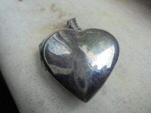Porta pillole in argento 925 a forma di cuore da appendere - Cuore da appendere alla porta ...
