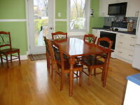 Ahuntsic 1st floor of duplex, with backyard Available Now
