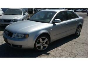 2004 Audi A4 Quattro, 1.8L Turbo, 6 speed manual, fully loaded