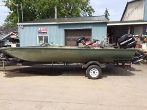2008 Lowe Roughneck 2070 with 115HP Opti-Max