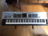 Roland Fantom X8 synthesiser,mint condition