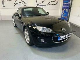 image for STUNNING MX5 ,2009 WITH HARDTOP ROOF,BLACK METALLIC ,FACELIFT WHEELS