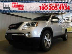 2011 Gmc Acadia SLT1. Text 780-205-4934 for more information!