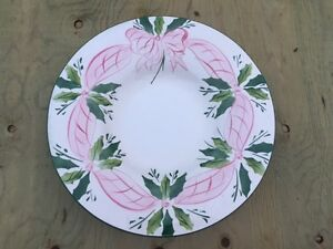 Large Christmas Themed Plate