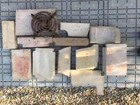 Rayburn Royal Parts - Left Hand Oven - Bricks & Grate & Grate Frame