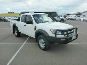 2010 Ford Ranger PK XL Super Cab White 5 Speed Manual Utility Vincent Townsville City Preview