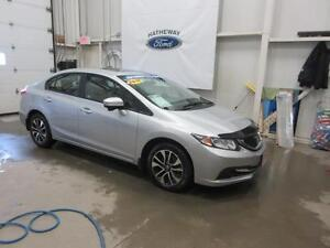 2015 Honda Civic EX, COMES WITH ORIGINAL MAGS/TIRES