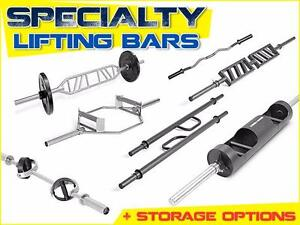 Weight Lifting Bars: Olympic, Specialty & Standard Bars / Functional Training / Recovery Accessories