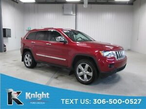 2013 Jeep Grand Cherokee Overland Navigation, Moon Roof