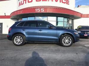 2010 Audi Q5 3.2L Premium Push Button Start! Leather! Sunroof!