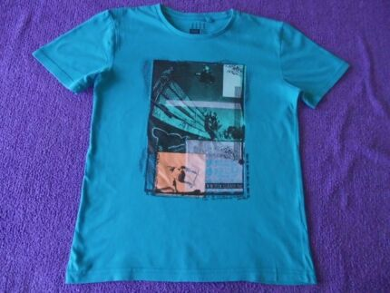 5 BOYS TEES - ALL SIZE 10 - VARIOUS BRANDS - EXC. COND.