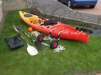 Fishing kayak riot escape 12