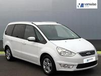 2015 Ford Galaxy ZETEC TDCI Diesel white Automatic