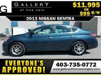 2013 Nissan Sentra S $99 bi-weekly APPLY NOW DRIVE NOW
