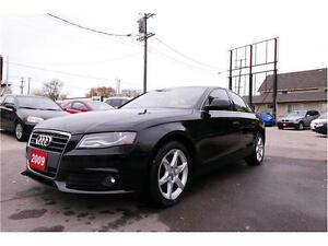 2009 Audi A4 -- AWD -- No Accident -- 1 year warranty