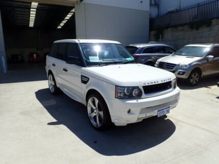 2010 Land Rover Range Rover Sport L320 11MY Super Charged White 6 Speed Sports Automatic Wagon