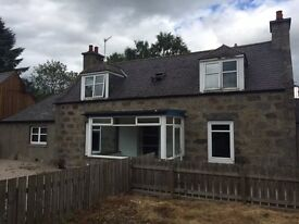 3 BEDROOM DETACHED COTTAGE WITH GARAGE IN INVERURIE TOWN CENTRE