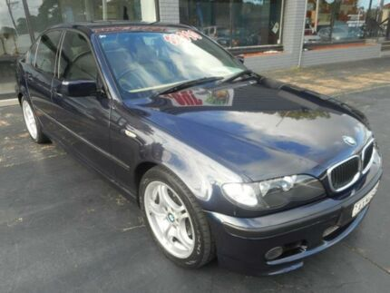 2003 BMW 318I E46 18I 5 Speed Auto Steptronic Sedan Haberfield Ashfield Area Preview