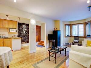 High Ceilings | Private Patio | Steps from McGill