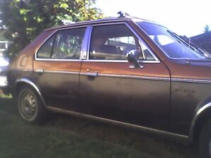 1978 Plymouth Horizon, 1st Edition, Deluxe, completely stock