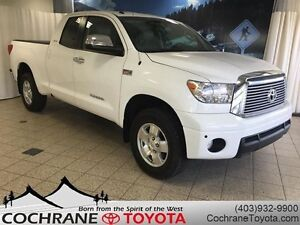 2011 Toyota Tundra Limited w/LEATHER SEATS, LOW KM, GREAT FEATUR