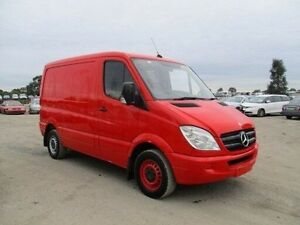 2008 Mercedes-Benz Sprinter NCV3 MY08 311CDI LOW ROOF MWB Red Automatic Van Clemton Park Canterbury Area Preview