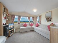 Brand new static caravan holiday home for sale on East Yorkshire coast Withernsea Sands nr Hornsea.