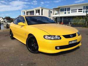 2003 Holden Monaro V2 Series II CV8 Yellow 4 Speed Automatic Coupe Sylvania Sutherland Area Preview