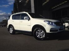 2015 Ssangyong Rexton Y200 MY15 SX (4x4) White 5 Speed Automatic Wagon Beckenham Gosnells Area Preview