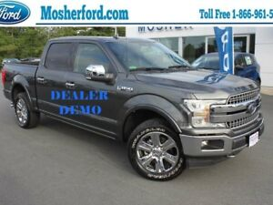 2018 Ford F-150 Lariat 4x4 SuperCrew Cab Styleside 145.0 in. WB