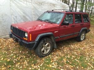 1998 Jeep Cherokee Sport 4x4 Cheap!