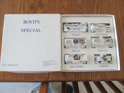 Vintage Boyd's Special Christmas Train Set