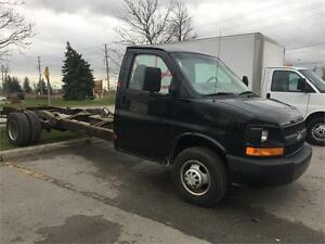 2007 CHEVROLET EXPRESS 3500 - CAB and CHASE